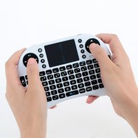 Wholesale Portable Mini G Wireless Keyboard with Touchpad Fly Air Mouse DPI Adjustable with USB Reciever for PC Notebook Android TV Box