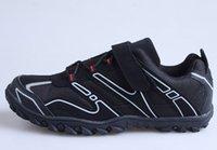 2015 Nueva Marca SPD Ciclismo Zapatos Negro MTB Zapatos bicicleta de montaña Zapatos Hombres Racing Bike Zapatillas Ciclismo Envío Gratis