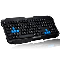 Wholesale New Waterproof USB Wired Game Gaming Optical Keyboard for CF CS WOW