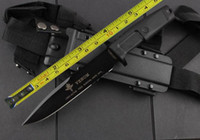 Wholesale 12 INCH NEW Extrema Ratio Rubber Handle CR13 Blade High quality Hunting knife FC20