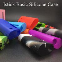 basic box - 1pcs Istick Basic Silicone Case Silicon Cases Rubber Sleeve Protective Cover Skin For Eleaf Ismoka Istick Basic Vape mah Battery Box Mod