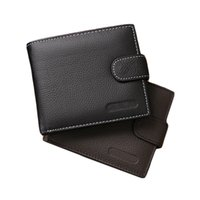 Wholesale S5Q New Brand Fashion Men s Luxury Genuine Leather Vintage Soft Billfold Clutch Coin Wallets Purse AAAFAD