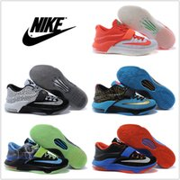 tennis kd - Nike Men s Basketball Shoes KD VII Low Retro High Quality Original Cheap Durant Sneakers Colors Men Sports Shoes Size