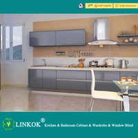 affordable furniture - Linkok Furniture modern black lacquer kitchen cabinets and affordable modern kitchen cabinets and lacquer spray paint kitchen cabinets