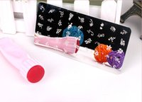 Wholesale 400Sets X Nail Art Stamping Stamper Kit with Image Plate Scraping Scraper Tool Nail Salon New