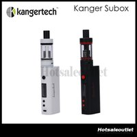 available now - White is Available Now Kanger Subox Mini Starter kit W ohm SUBOX Mini Set Subtank Mini Kbox Authentic