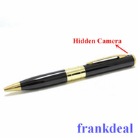 Wholesale Spy Pen Camera Digital Video Recorder Mini Pen Cameras mini DVR Pen Hidden Camera Mini Camcorder DV