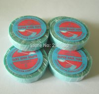 Wholesale bag finest quality Lace wig glue tape for hair extension double sider glue tape human hair with super tape