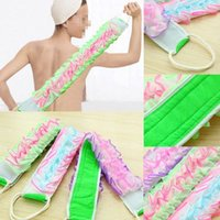 Wholesale 2015 Korean Style High Quality Long Bath Rubbing Bath Brush Towels Accessories