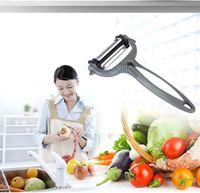 Wholesale The new rotatable triple multifunction vegetable peeler fruit slicer planing Peel