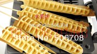 Wholesale Electric commercial electric lolly waffle machine tree shape lolly waffle maker fast delivery