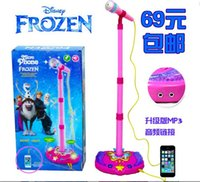 Wholesale Frozen Sing Along Boombox Toys New Dhl Frozen Musical Toys Christmas gift B236