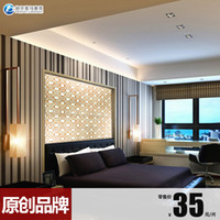 Wholesale Platinum Amalfi living room TV backdrop Crystal glass mosaic tile puzzle original wall stickers B150603