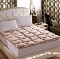 Wholesale Foldable bed mat Farley fleece warming bed mattress mat bed pad cover fashion mattress