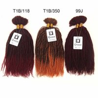 synthetic hair best synthetic hair for braiding - 6PCS Queen Hair Products Marely Bulk For Braiding Synthetic Hair Extension Best Quality High Temperature Hair Weaving