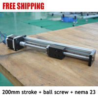 Wholesale China FUYU Brand mm Effective Stoke Ball Screw Driven Linear Slide With Motor From Factory