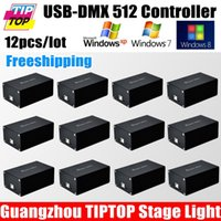 american dj dmx controller - Freeshipping USB DMX Stage Light Controller Channels Support Sunlite GrandMA Pearl Martin American DJ DMX Operator