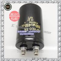 Wholesale Import electrolytic capacitor v680uf uf v inverter welding machine capacitance than domestic
