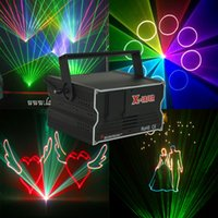 1w laser - MINI W RGB laser light Animation ILDA DMX512 laser light full color stage laser light bliss light