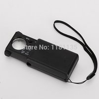 Wholesale 30X X LED Magnifier Magnifying Glass Eye Loupe Lens Pocket Jeweller Microscope