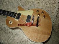 Wholesale New Arrival Custom guitar Natural color Electric Guitar One Piece Neck Guitars HOT