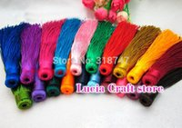 Wholesale Chinese Knot Tassel Pendant Tassel Fitting Car Pendant and Jewelry HS12