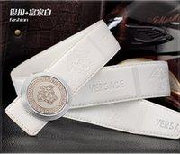 Wholesale Head portrait Fashion mens designer leather belts Business Jeans Automatic Buckle waist strap belts for men brand belts quality