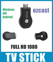 Wholesale Best Price ezCast Miracast Dongle TV stick support DLNA Miracast Airplay MirrorOP for windows andriod TV Stick OTH033