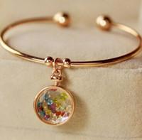 beautiful creativity - 50 mm g glass charms lucky lockt pendants kinds different kinds beautiful creativity charms jewelry