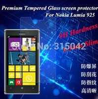 protective film - Brand New for Nokia Lumia ultra thin Premium Tempered Glass Screen Protector screen protective film retail packing free ship
