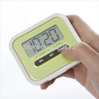 Cheap Lazy cooking Timer Mini Digital clock kitchen timer reminder electronic cooking alarm ring household kitchen timer