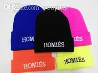homies - Hot Selling New HOMIES Style Fashion Men Women Skull Beanie Hat Winter Fall Hiphop Warm Cap