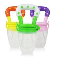 Wholesale baby pacifier Nipple Fresh Food Milk Nibbler Feeder Feeding Tool Safe Baby Supplies Must tool Baby Pacifiers