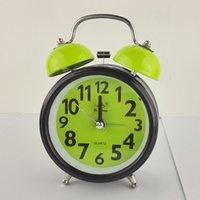 Wholesale inch luminous metal alarm clock