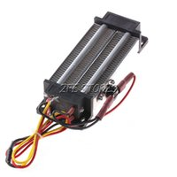 Wholesale 1Pc PTC heating element heater Electric heater ceramic Thermostatic W AC V order lt no track