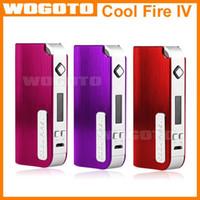 Cheap 100% Original Cool Fire IV Kit Electronic Cigarette INNOKIN 40W 2000mAh Big Battery Mod Variable Wattage Cool Fire E Cig Vaporizer
