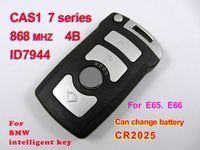 Keyless Entry b w cm - e65 phone Key for auto remote key B M W CAS1 intelligent key series ID7944 MHZ Apply to E65 E66 cute car accessories