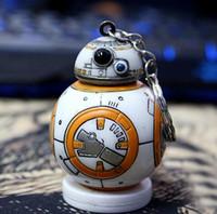 bb purses - Star War The Force Awakens BB Keychain Episode VII Movie Toy car keyring Bag Purse Pendant Accessory