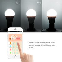 Wholesale Semlamp SL101 E27 smart LED light android Remote Control Adjustable Brightness
