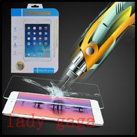 Wholesale Explosion proof Tempered Glass Film Screen Protector for iPad Mini ipad air Guard Retail Package