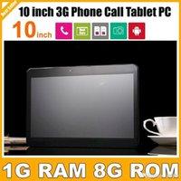 Tablet pas cher avec Livraison gratuite 3G Appel 10 pouces Tablet Avec Sim Card Slot MTK6572 Dual Core Android 4.4 GPS Bluetooth double caméra PB10-G3