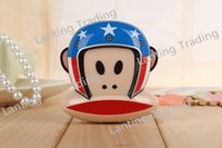 Cheap 20pcs lot New Style Cartoon Monkey power bank 10800mAh Battery For iPhone and all Mobile Phones with Retail Box Micro usb cable