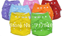Wholesale 1 waterproof reusable baby cloth diapers nappies inserts