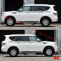 Wholesale Nissan Patrol car stickers modified special vehicle stickers garland automobile garland whole car stickers waist