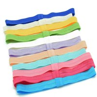 foe - 180pcs baby headband hair elastic bands FOE headbands newborn baby hair ealsitcs girls hairbands hair accessory