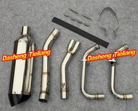 Wholesale For Kawasaki Ninja R EX250R Stainless Steel Titanium Motorcycle Exhaust Pipes Top Quality order lt no track