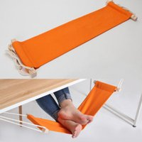 hammock stand - Portable Mini Office Foot Rest Stand Desk Feet Hammock Easy to Disassemble Study Library Outdoor Indoor