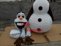 Cheap Mascot Costumes Olaf mascot Best Custom Made Animal mascot costume
