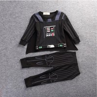 aa cosplay - Kids Clothing Sets Star Wars Boys Girls Hoodies Jacket kids clothes Hoodies suits Children cosplay trousers suits Christmas Gifts Dhgate AA