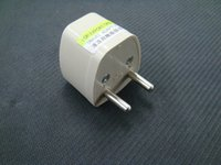 adapter asia - UK AUS US ASIA TO EU FRANCE GERMANY AC POWER PLUG ADAPTER AND TRAVEL CONVERTOR